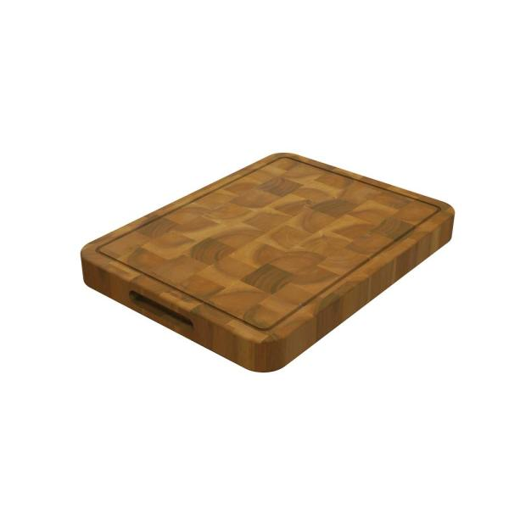 butcher block Rectangular Teak cutting board Chopping board