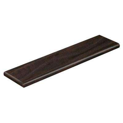 Harvest Time 94 in. Length x 12-1/8 in. Wide x 1-11/16 in. Thick Laminate Left Return to Cover Stairs 1 in. Thick