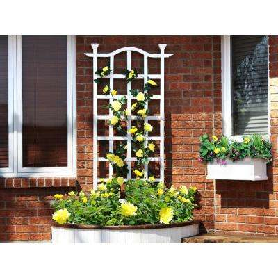 79 in. London Vinyl Trellis