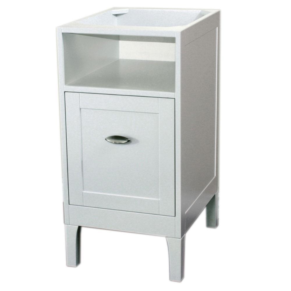 Kent 16 in. W x 20 in. D Vanity Cabinet in White