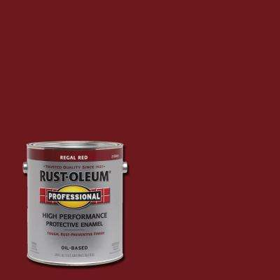 1 gal. High Performance Protective Enamel Gloss Regal Red Oil-Based Interior/Exterior Paint (2-Pack)