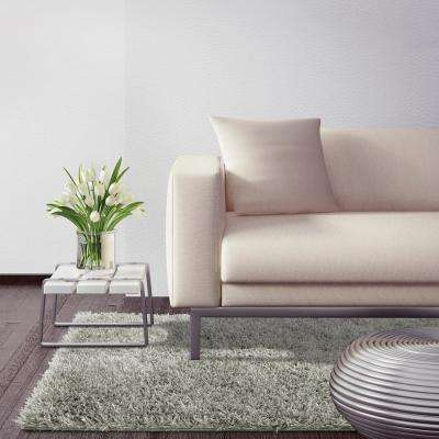 City Sheen Silver 5 ft. x 7 ft. Area Rug