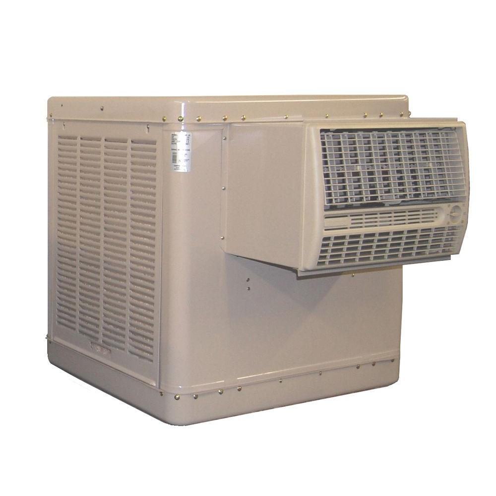 Champion Cooler 4700 CFM 2-Speed Window Evaporative Cooler for 1600 sq. ft. (with Motor)
