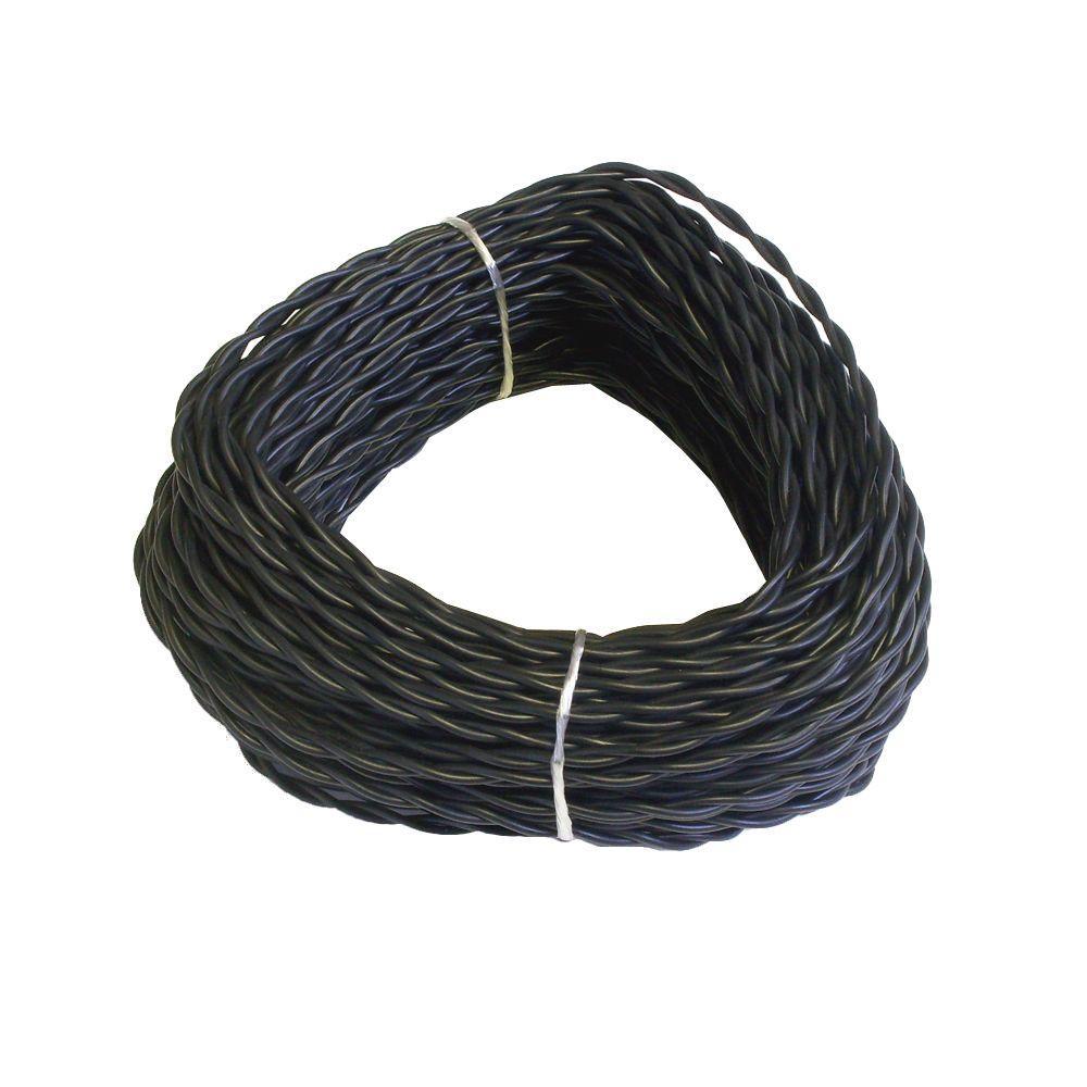 100 Ft Black Solid Landscape Ultra Wire