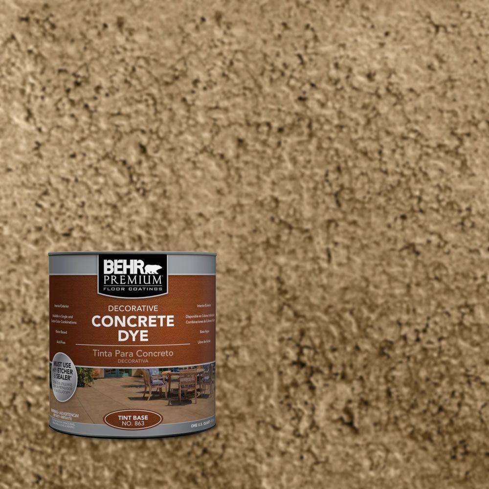 1 qt. #CD-807 October Oak Concrete Dye