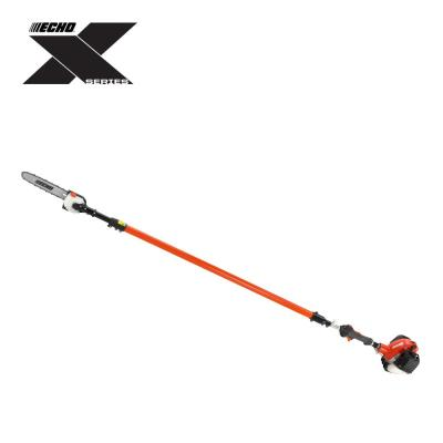 12 in. 25.4 cc Gas 2-Stroke Cycle Telescoping Pole Saw with In-Line Handle