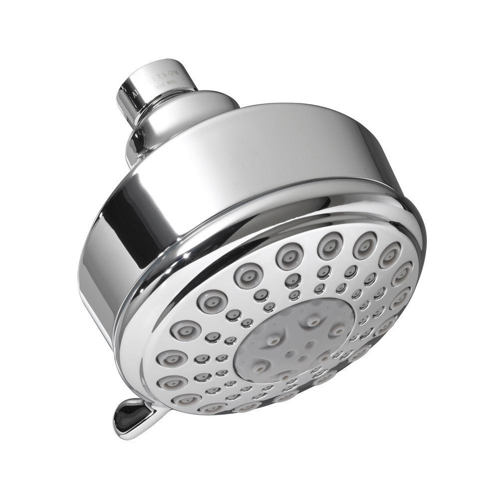 Modern 5-Spray 3.75 in. Showerhead in Polished Chrome