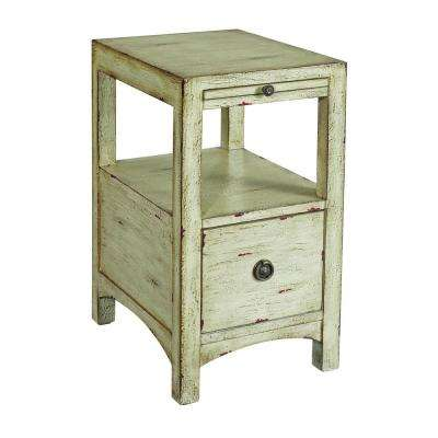 Souther Shores Sand 1-Drawer Accent Table
