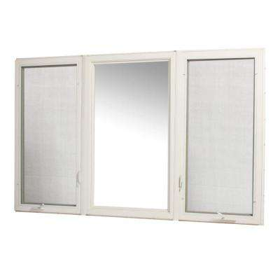 Vinyl Casement Combination Window - Right/Picture/Left - Assembly Required