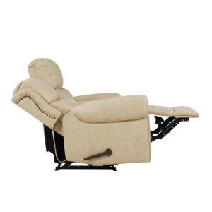 Phenomenal Prolounger Distressed Latte Tan Faux Leather 2 Seat Rolled Machost Co Dining Chair Design Ideas Machostcouk
