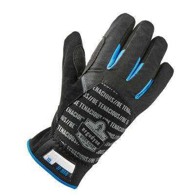 Large Black Thermal Utility Gloves