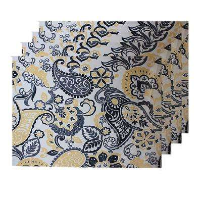 Indoor/Outdoor Paisley Park Placemat (Set of 4)