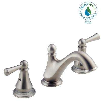 Haywood 8 in. Widespread 2-Handle Bathroom Faucet in Stainless
