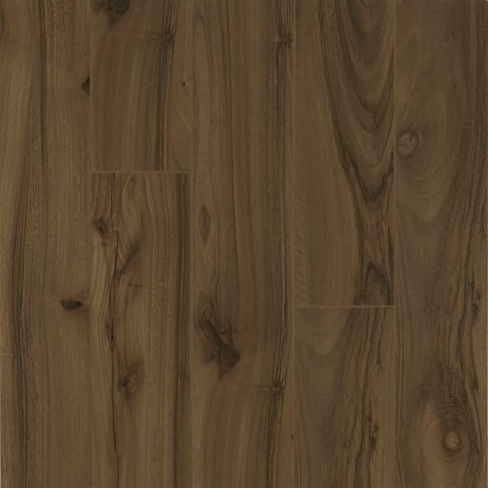 Light Walnut Laminate Flooring - 5 in. x 7 in. Take Home Sample