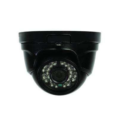 Wired 1080p Indoor or Outdoor Dome Standard Surveillance Camera with 100 ft. Night Vision
