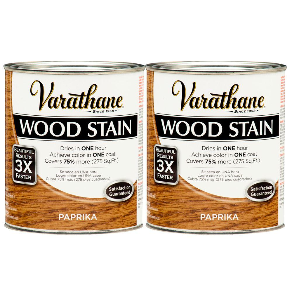 Varathane 1 Qt. Paprika Wood Stain (2-Pack)-DISCONTINUED