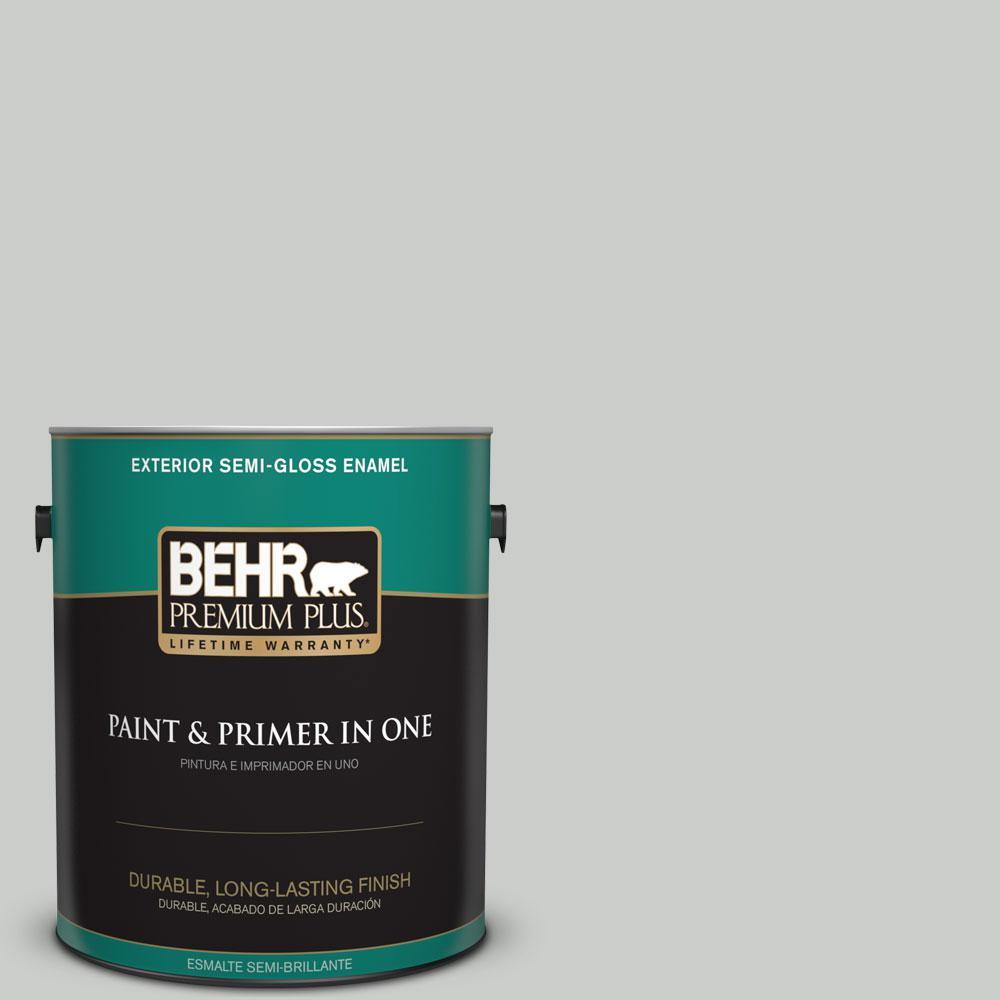 1-gal. #PWL-89 Silver Setting Semi-Gloss Enamel Exterior Paint