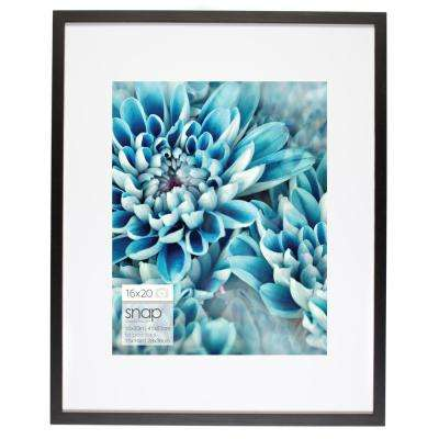 Snap 11 in. x 14 in. Black Picture Frame