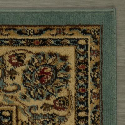 Traditional Oriental Seafoam Green 5 ft. x 7 ft. Area Rug