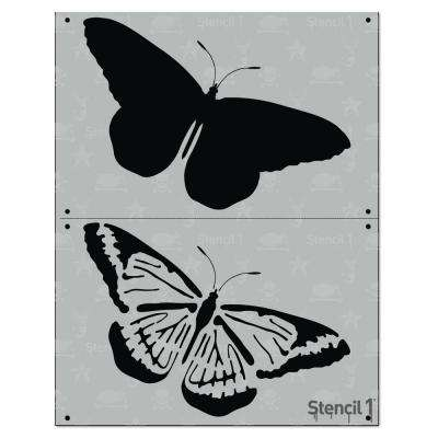 Butterfly 2 Layer Stencil