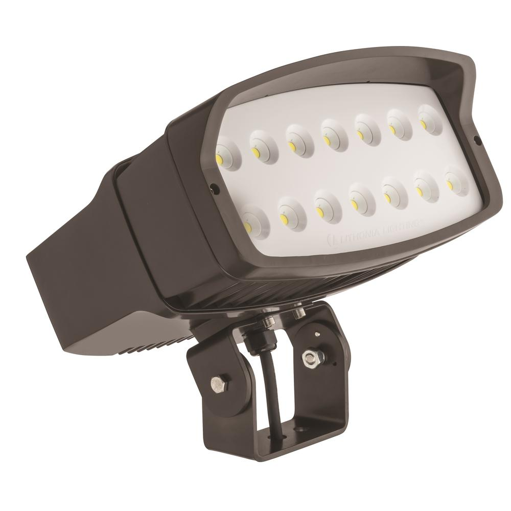 Lithonia Lighting OFL2 LED Bronze Outdoor Flood Light