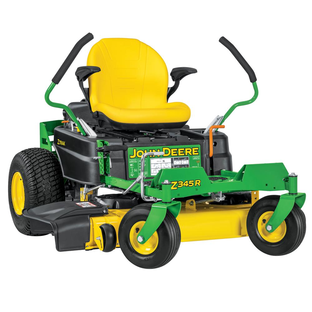 John Deere Z345r 42 In 22 Hp Gas Dual Hydrostatic Zero