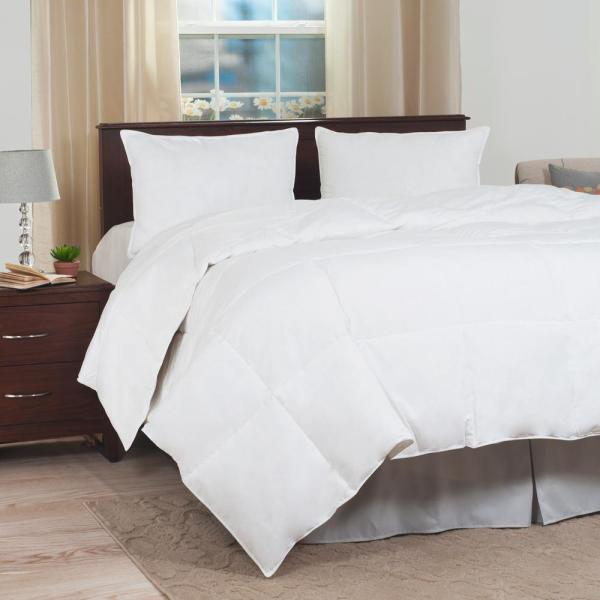Lavish Home Ultra-Soft White Down Alternative King Comforter 64-11-K