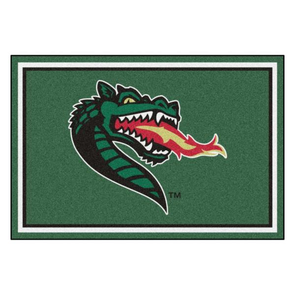 NCAA - University of Alabama at Birmingham Green 8 ft. x 5 ft. Indoor Area Rug