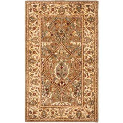 Persian Legend Light Green/Beige 3 ft. x 5 ft. Area Rug