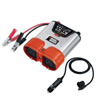 500-Watt Dual Outlet Power Inverter