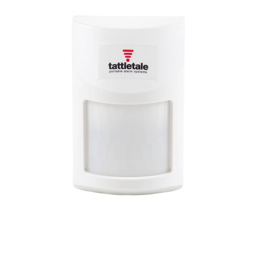 tattletale Wireless PIR Indoor Motion Detector. The wireless Indoor Motion Detector requires a tattletale base unit to operate.