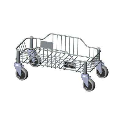 Stainless Steel Commercial Trash Can Dolly