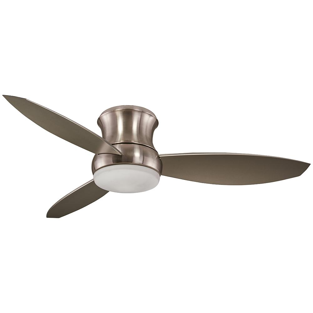 AireaMinkaGroupDesign Aire a Minka Group Design Hi-Wind 52 in. Indoor Brushed Nickel Ceiling Fan with Remote Control