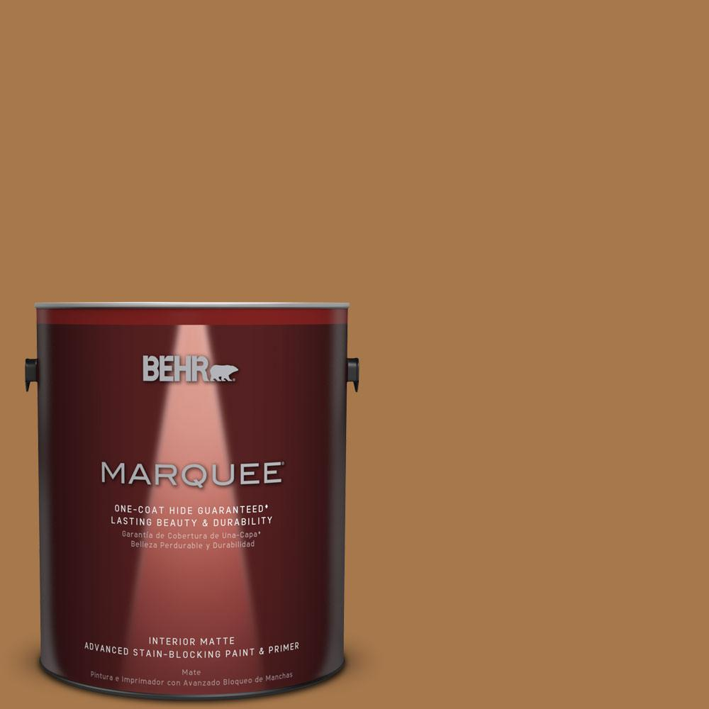 Behr Marquee 1 Gal Home Decorators Collection Hdc Cl 18a Er Caramel