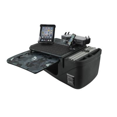 GripMaster Urban Camouflage Car Desk with Built-In Power Inverter, Printer Stand, X-Grip Phone Mount and Tablet Mount