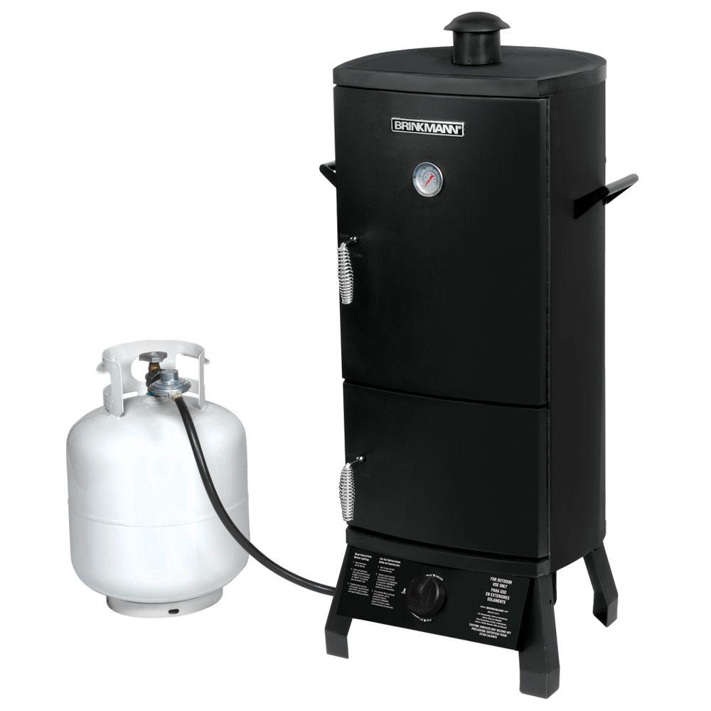 Brinkmann 41 in. Vertical Propane Gas Smoker-DISCONTINUED