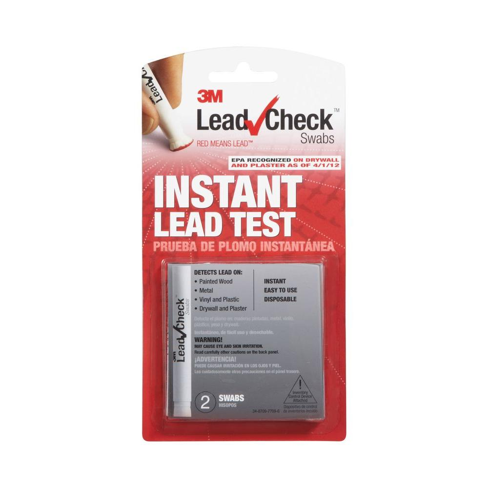 3M LeadCheck Instant Lead Test Swabs (2-Pack)