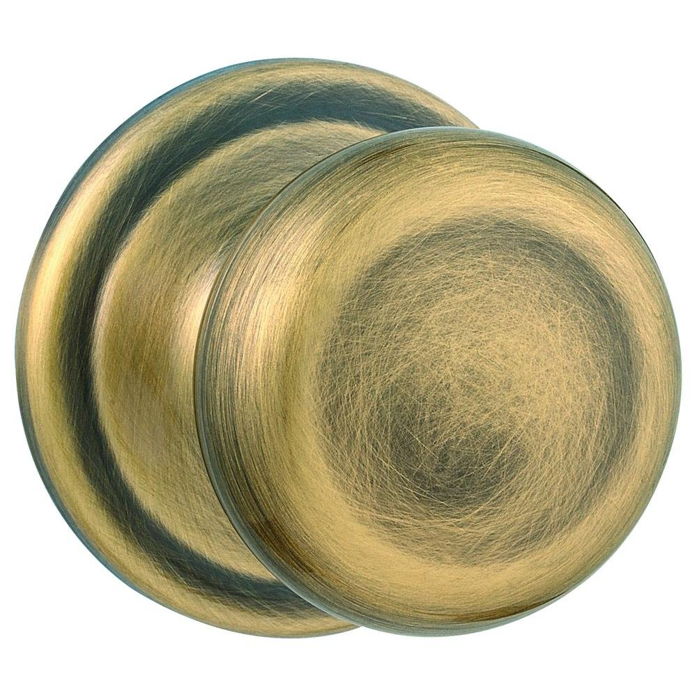 Juno Antique Brass Half-Dummy Door Knob