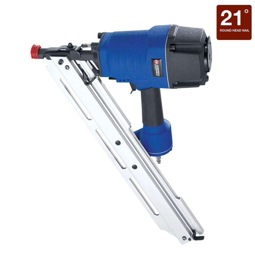 Campbell Hausfeld 21-Degree Framing Nailer Kit