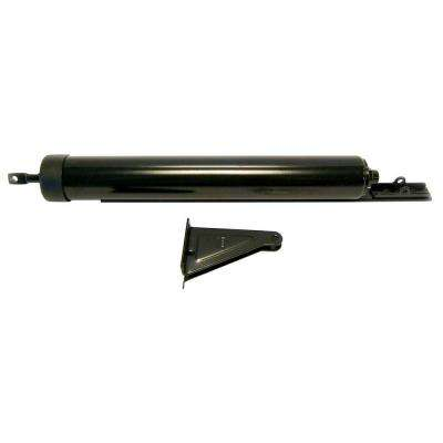 Quick-Hold Heavy Storm Door Closer with Torsion Bar in Black