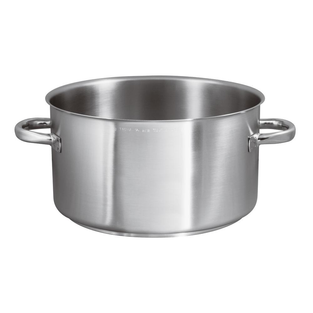 21-1/2 Qt. Induction Stainless Steel Sauce Pot, No Lid