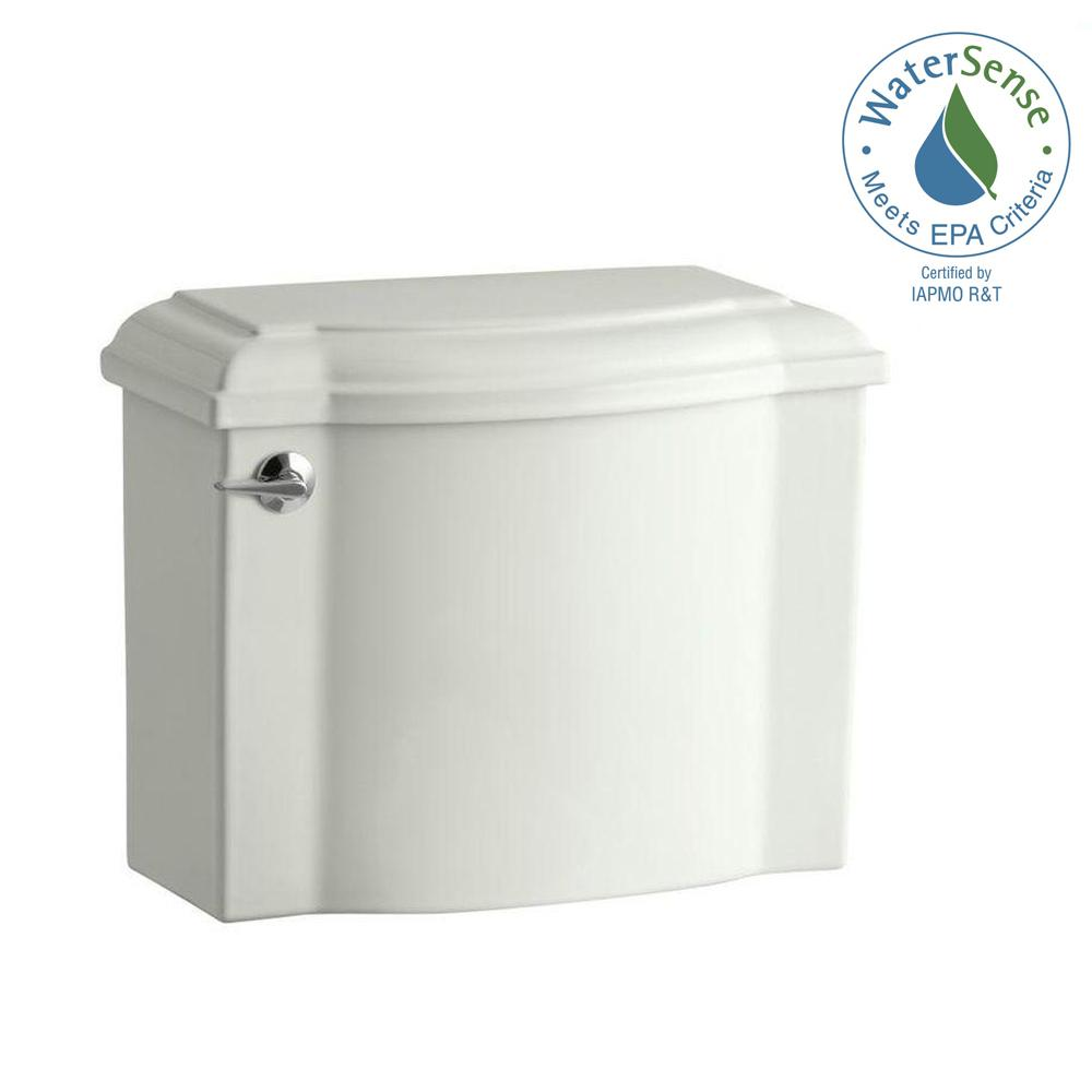 Devonshire 1.28 GPF Single Flush Toilet Tank Only in Dune