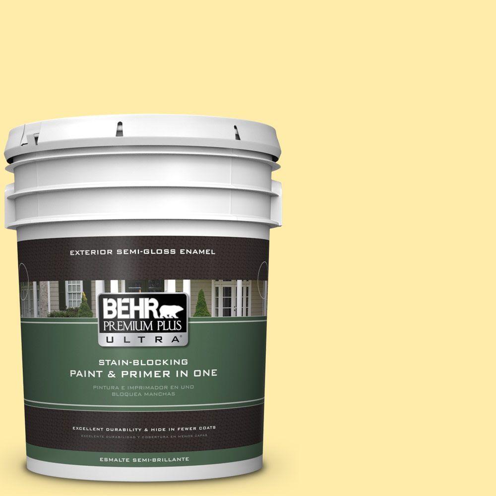 5-gal. #P300-3 Rite of Spring Semi-Gloss Enamel Exterior Paint