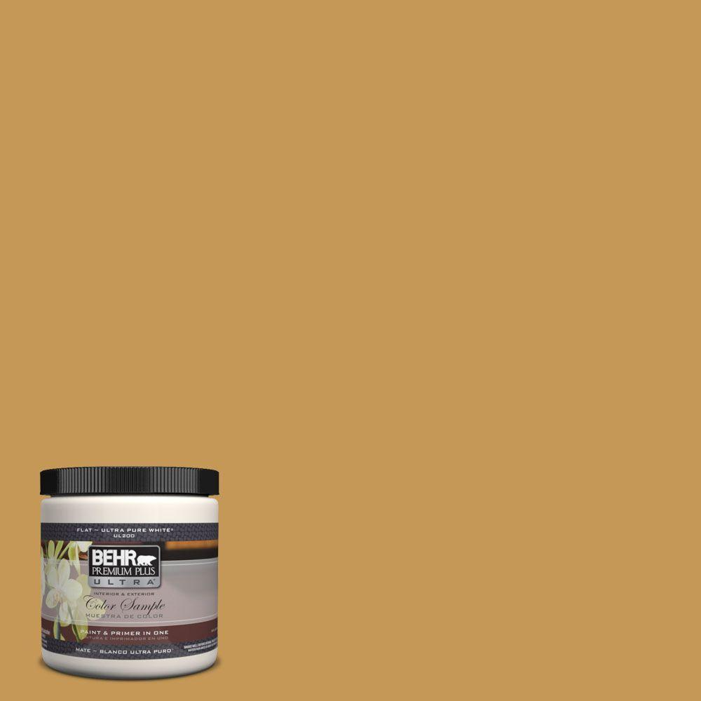 8 oz. #PMD-104 Amber Glass Interior/Exterior Paint Sample