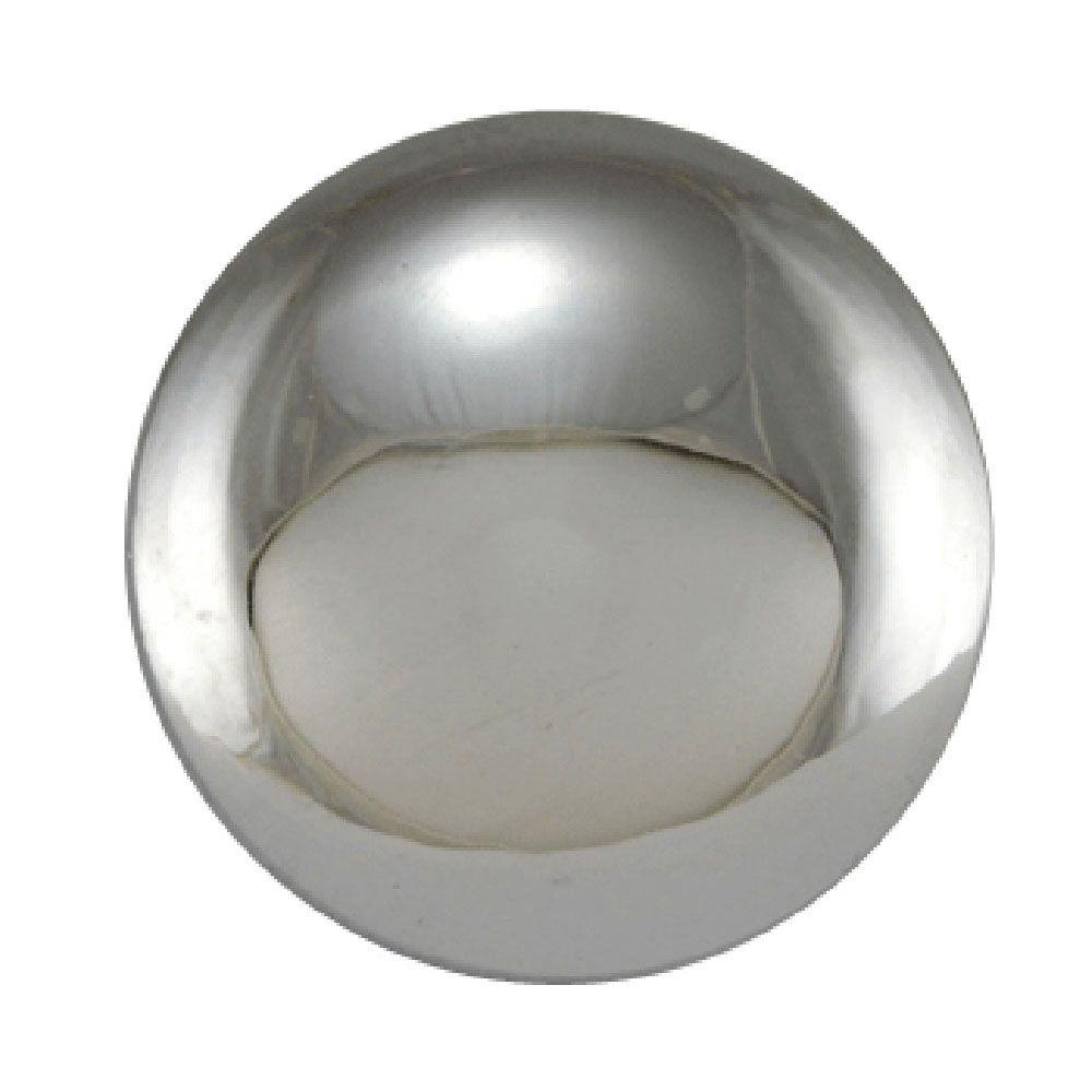 Copper Mountain Hardware 1-1/2 in. Polished Chrome Round Cabinet Knob