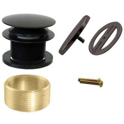 Illusionary Universal Overflow Trim, Oil Rubbed Bronze
