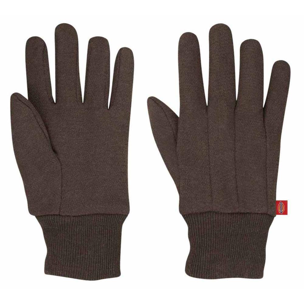Dickies Ladies 9 oz. Brown Jersey Glove (6-Pair)