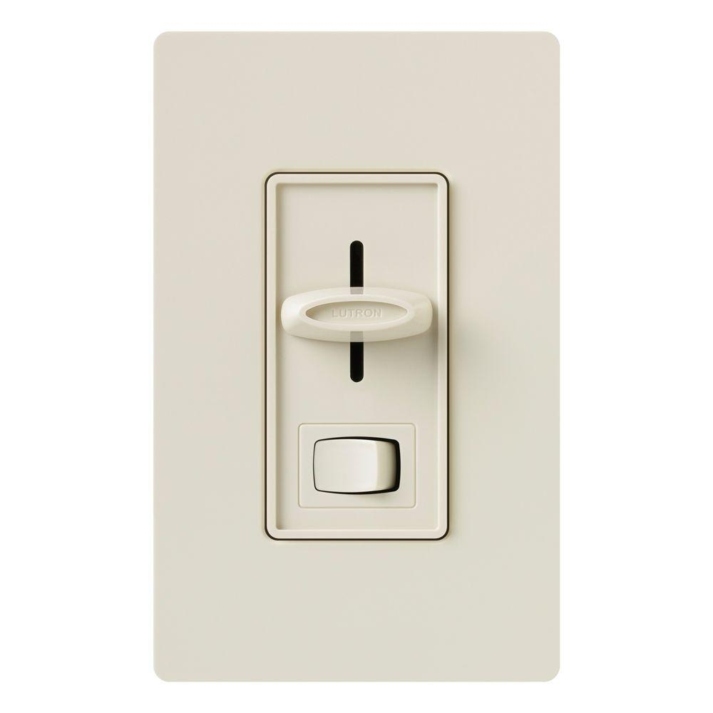 Lutron Skylark 600-Watt 3-Way Eco-Dimmer - Light Almond