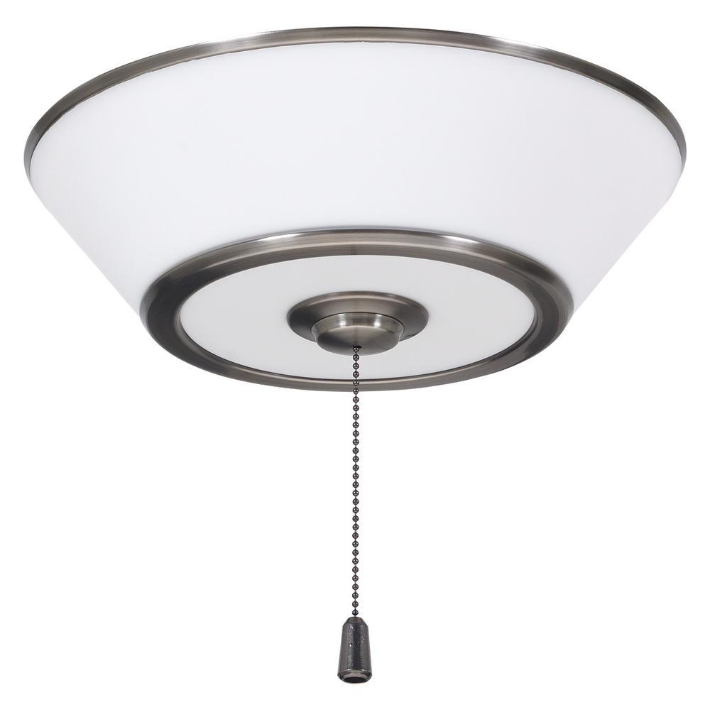 Euclid 3-Light Antique Pewter Ceiling Fan Light Kit