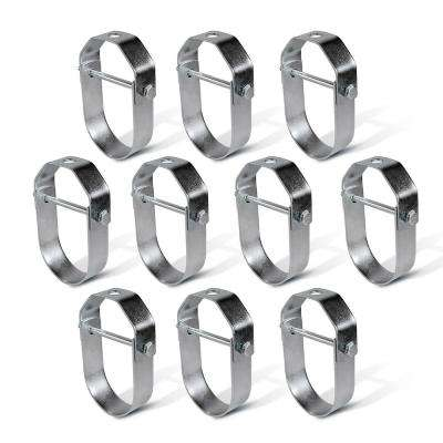 2 in. Clevis Hanger for Vertical Pipe Support in Standard Galvanized Steel (10-Pack)